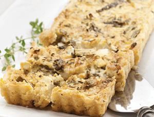 Asparagus and onion tart