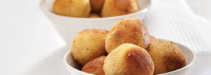 Crispy Bacon and Onion Puffs