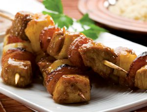 Curried Pork Satays