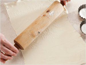 prepare pastry