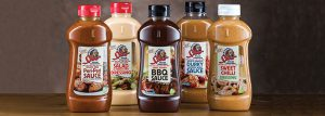 Spur Sauces bottles