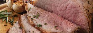 Lemon and herb beef roast
