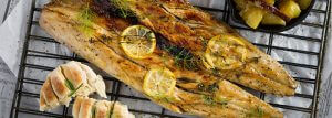 Westcoast grilled fish with apricot basting