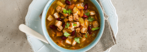 Chunky vegetable soup