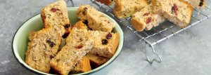 Fruity Bran Rusks