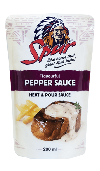 Pepper pour on Sauce